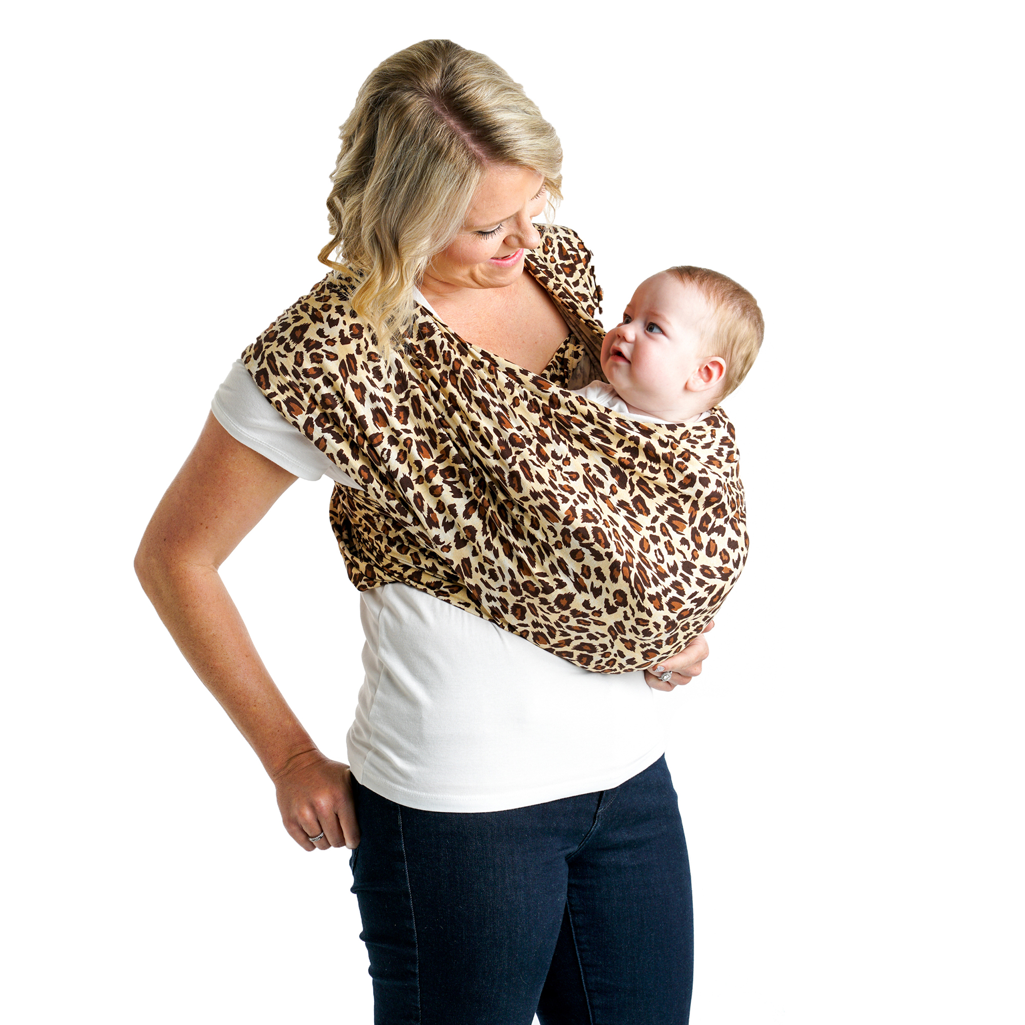 Warm Cocoa X-Large Baby K/'tan ORIGINAL Cotton Wrap Baby Carrier