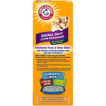 Arm & Hammer Cat Litter Deodorizer Double Duty, 30oz. Super Pet Clean Cage Deodorizer