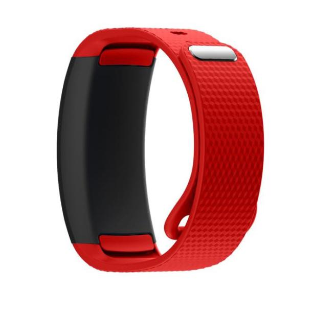 DZT1968® Luxury Silicone Watch Replacement Band Strap For Samsung Gear Fit 2 SM-R360