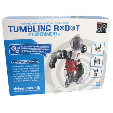 Build A Robot Kit (Easy to Build Tumbling Robot Experiment Kit By)
