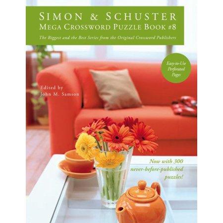 Simon & Schuster Mega Crossword Puzzle Book #8 - image 1 of 1
