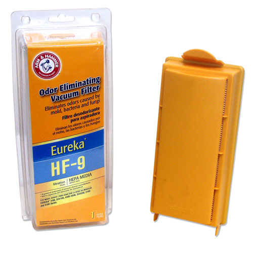 A&H Eureka/Sanitaire Style HF-9 HEPA Filter Pkg