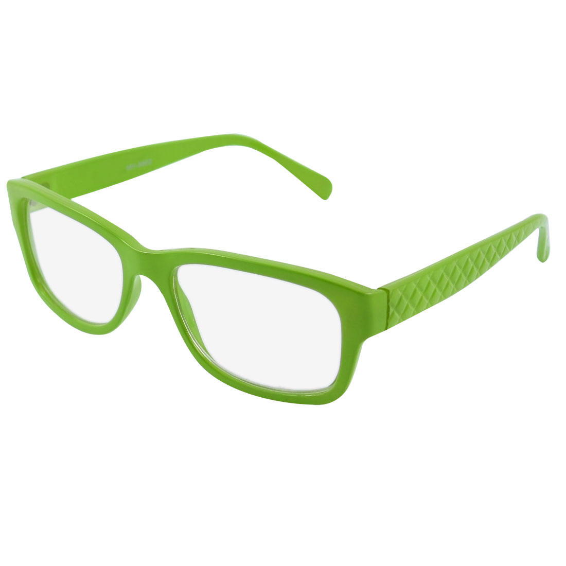 Green Clear Lens Glasses