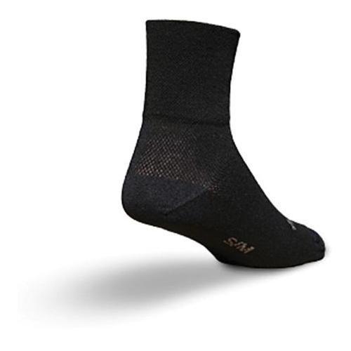 "Socks - SockGuy - Classic 3"" Black S/M Cycling/Running"