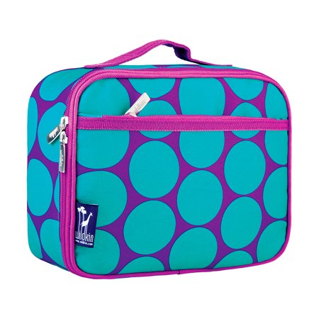 Storage And Organization Wildkin Big Dot Aqua Insulated