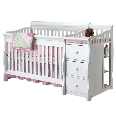 Sorelle Tuscany 4 In 1 Convertible Fixed Side Crib And Changing