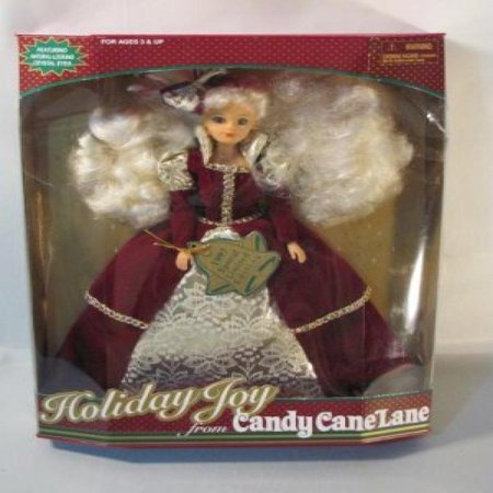 (Holiday Joy Doll From Candy Cane Lane with Natrual - Looking Crystal Eyes (1997 Special Limited Edition))