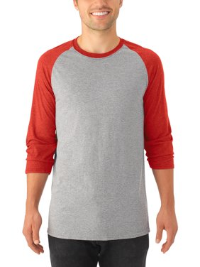 795bc5c8 Free shipping on orders over $35. Product Image Men's Soft ¾ Sleeve  Tri-blend Baseball T Shirt, 2 Pack