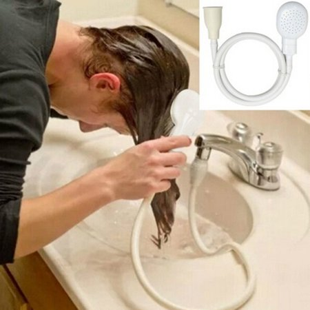 Outtop Faucet Shower Head Spray Drains Strainer Hose Sink Washing Hair Wash Shower