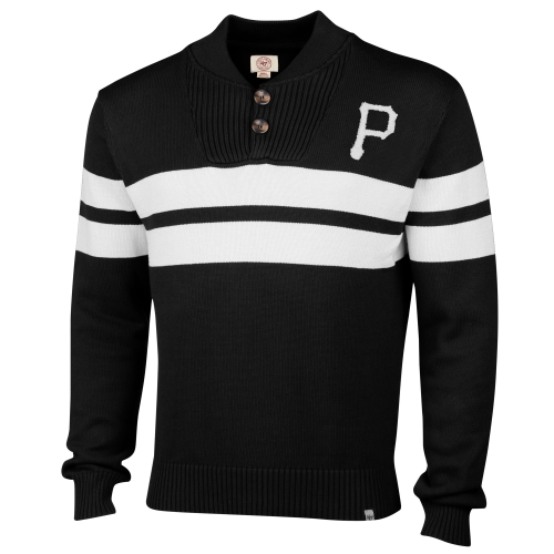 Pittsburgh Pirates '47 Brand Tradition Sweater - Black