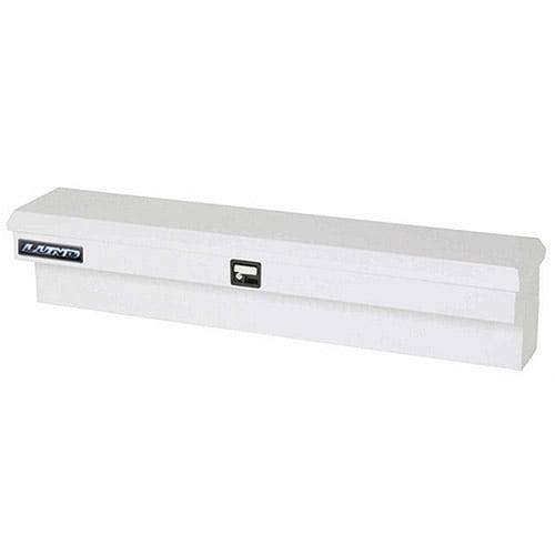 Lund 86748 48-Inch 16-Gauge Steel Side Mount Box, White