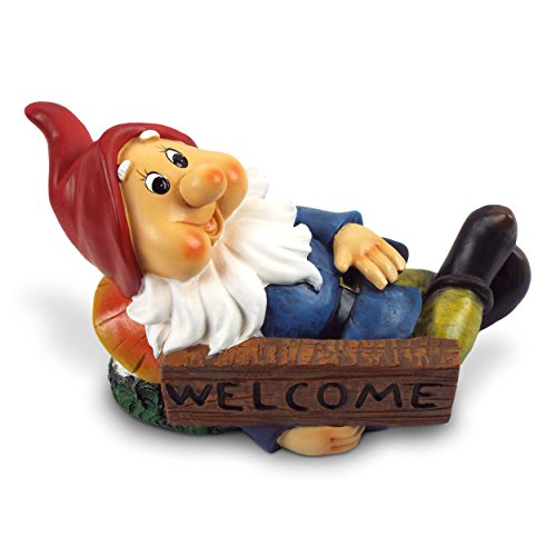 Brilliant Homes Bright Cheery Garden Gnome by