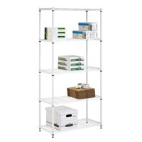Deals on Honey Can Do 5-Tier Heavy Duty Adjustable Shelving Unit