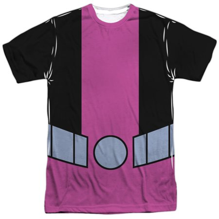 Teen Titans Go! Animated DC TV Show Beast Boy Uniform Adult Front Print T-Shirt ()