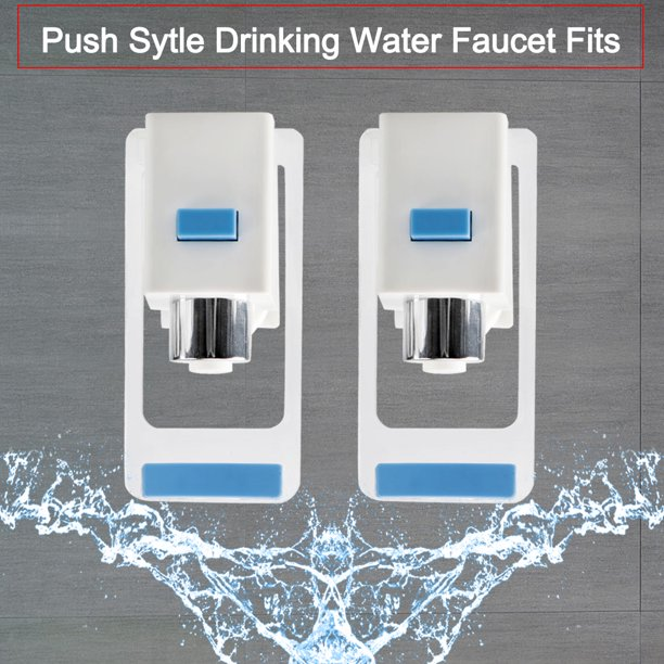 Blue Plastic Water Cooler Faucet Push Type Fit Universal Drink Water Dispenser Tap Spigot Replacement 3pcs Walmart Com Walmart Com
