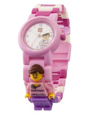 Classic Pink Minifigure Link Watch