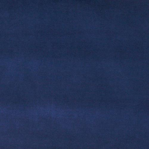 A0001g Dark Blue Authentic Cotton Velvet Upholstery Fabric By The