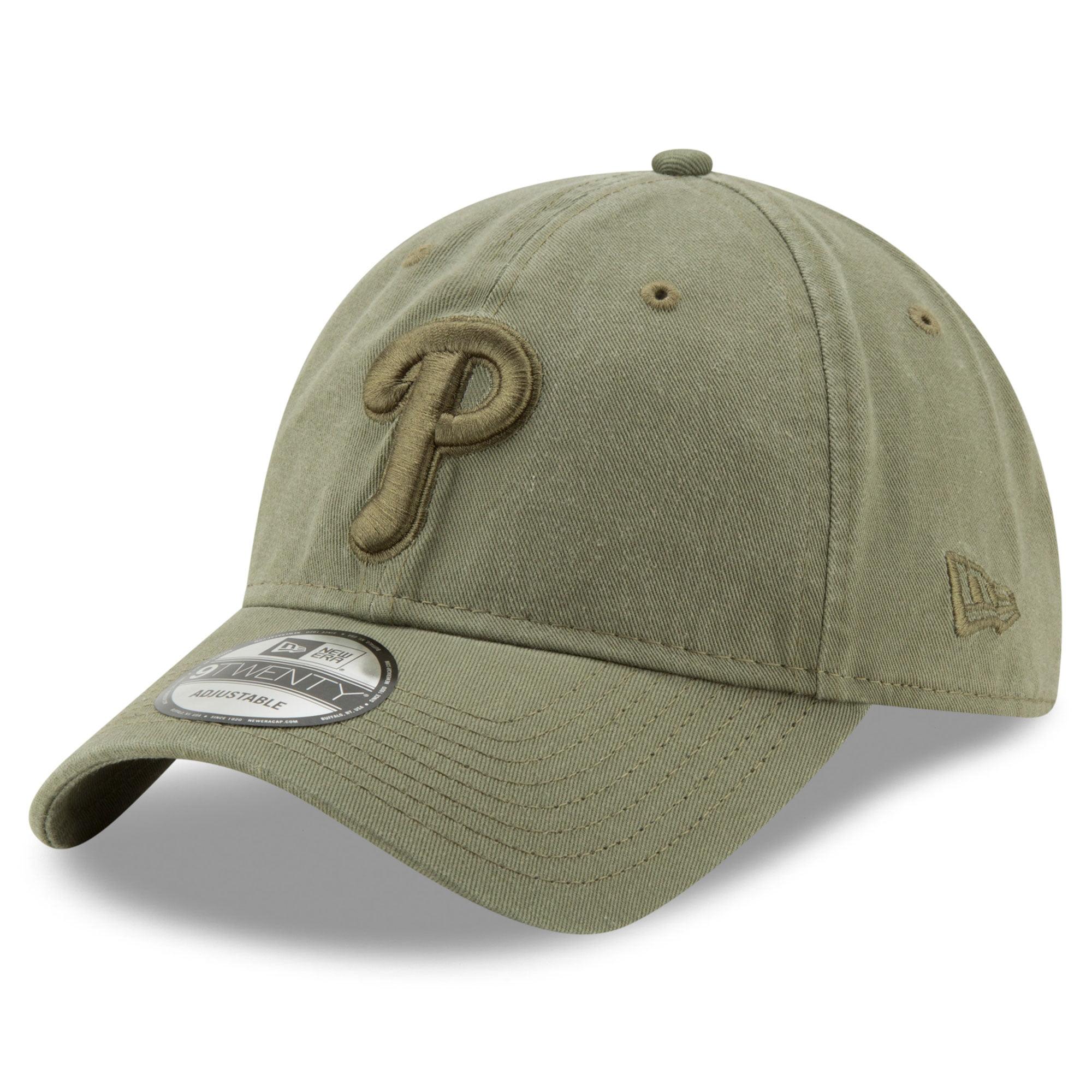 Philadelphia Phillies New Era Tonal Bark Core Classic 9TWENTY Adjustable Hat - Green - OSFA