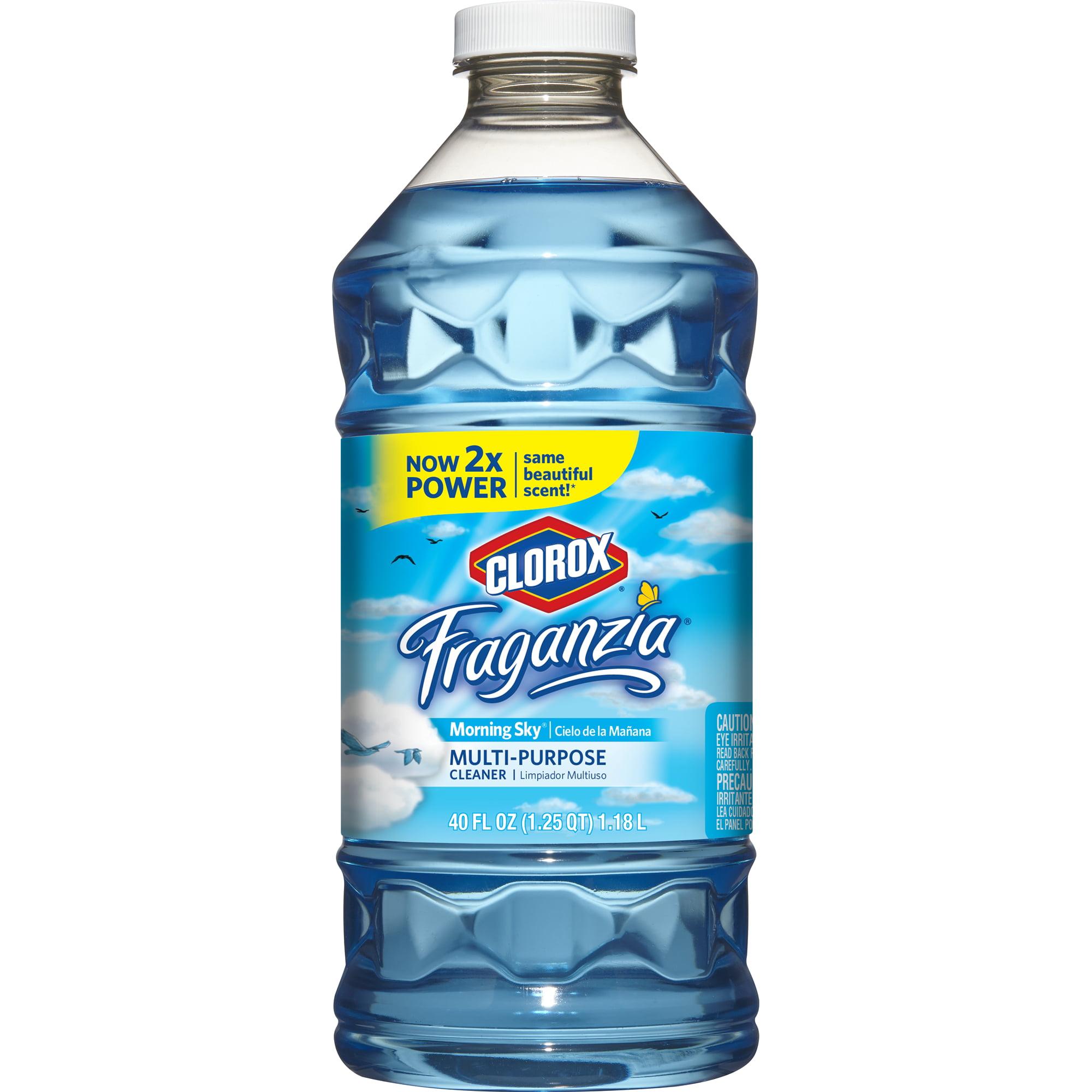 Clorox Fraganzia Multi-Purpose Cleaner, Morning Sky, 40 oz - Walmart.com