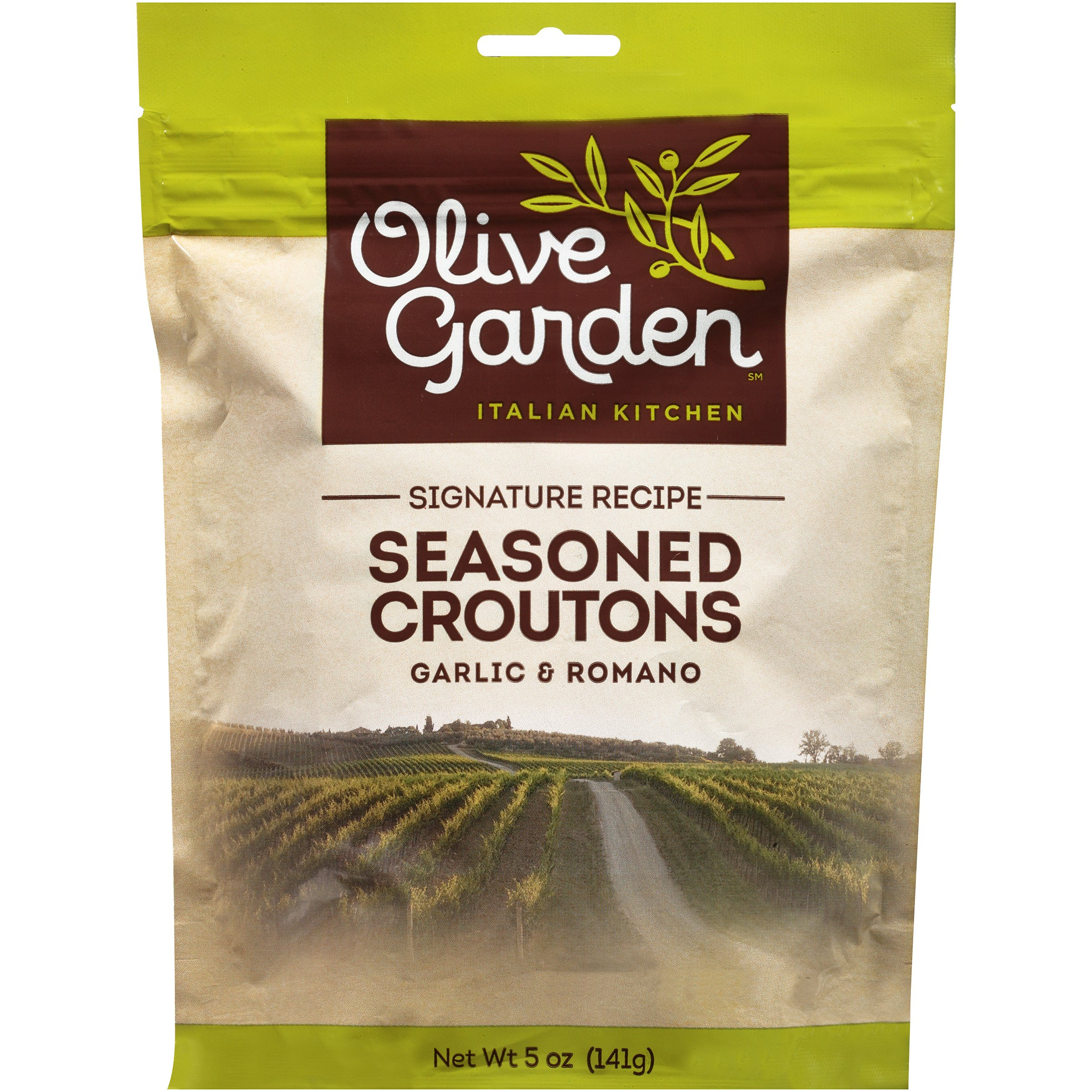 olive garden garlic romano seasoned croutons 5 oz