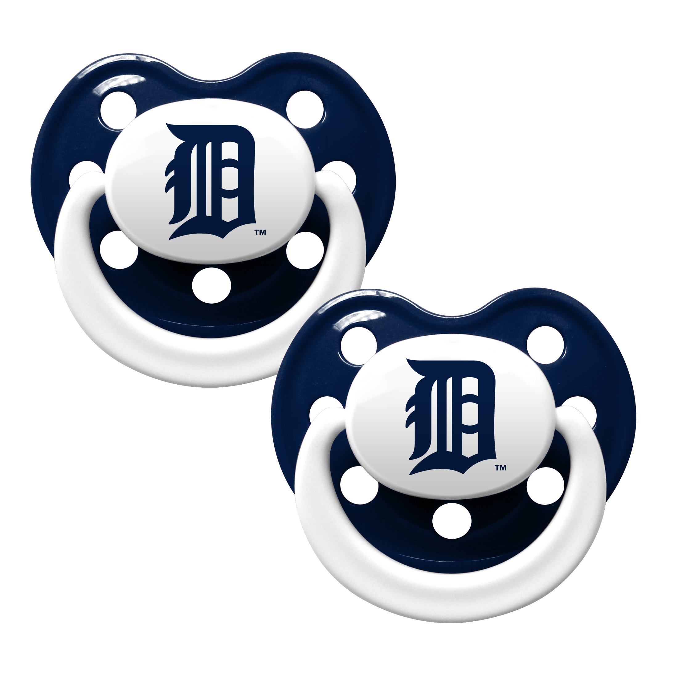 Baby Fanatic MLB Detroit Tigers 2 - Pack Pacifiers