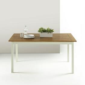 Zinus Famhouse Large Wood Dining Table