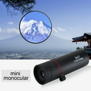 Dilwe 2 Types Portable Monocular 8X/10X Focus Telescope For Outdoor Travel Hunting,Monocular, Portable Monocular