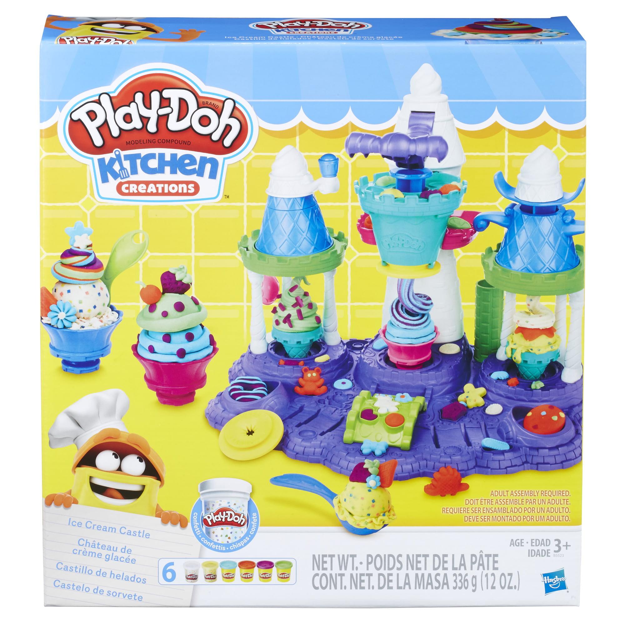 Play-Doh Ice Cream Castle Food Set