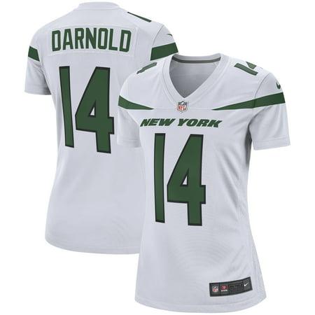 sale retailer c89c5 9f893 Sam Darnold New York Jets Nike Women's Game Jersey - Spotlight White