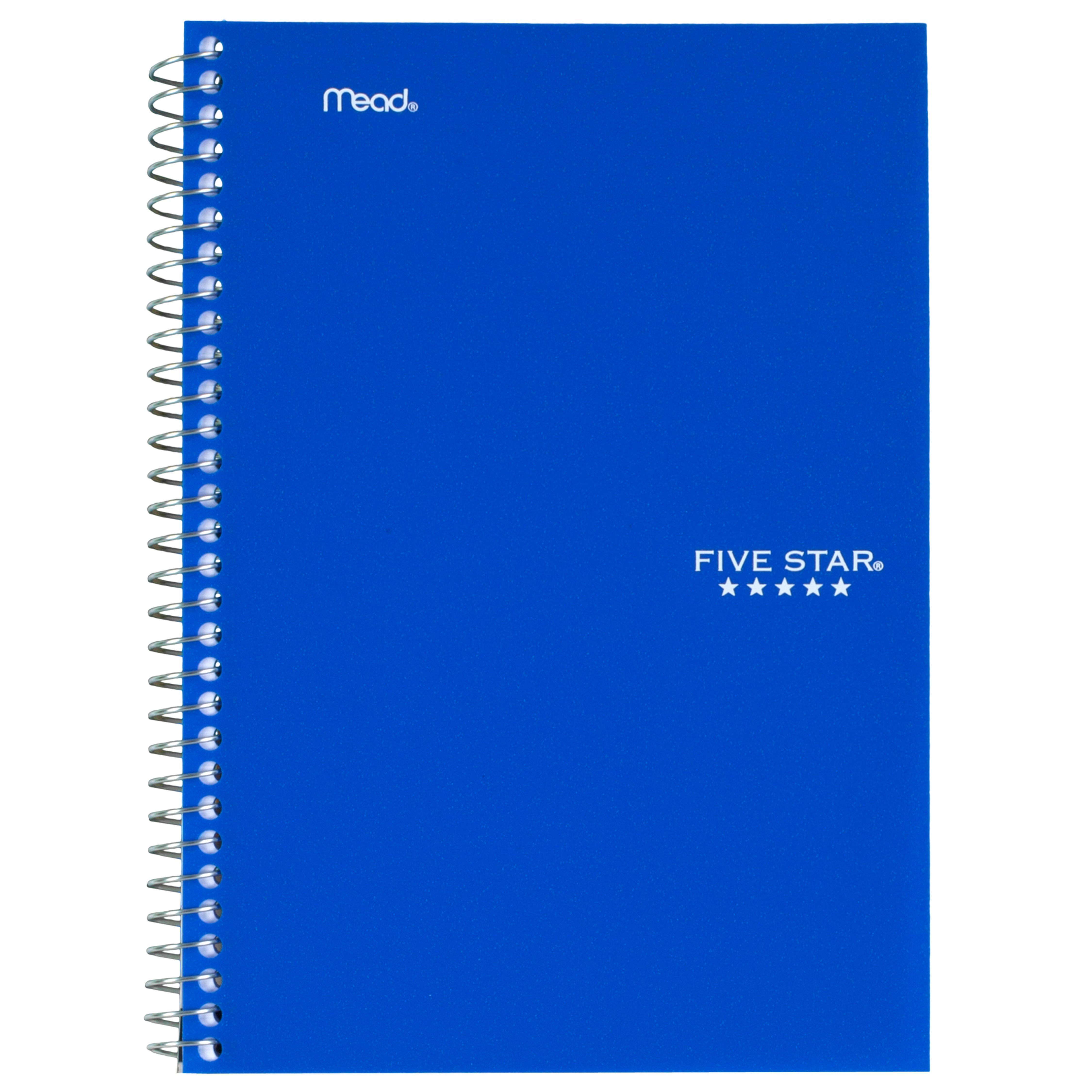 Five Star Wirebound Notebook - 2 Sub 100ct CR, Blue