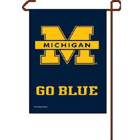 """Michigan Wolverines 11""""x15"""" Garden Flag"""