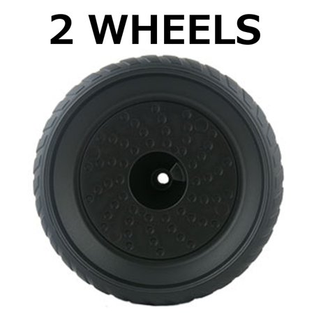 - 2 Power Wheels X6218-2819 X6218 Corvette Rear Wheel Black Genuine
