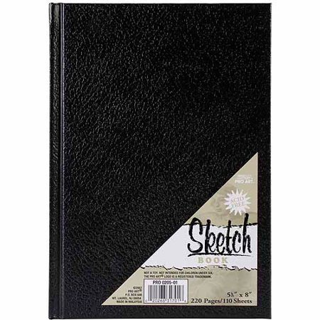 Pro Art Hardbound Sketch Book, 11