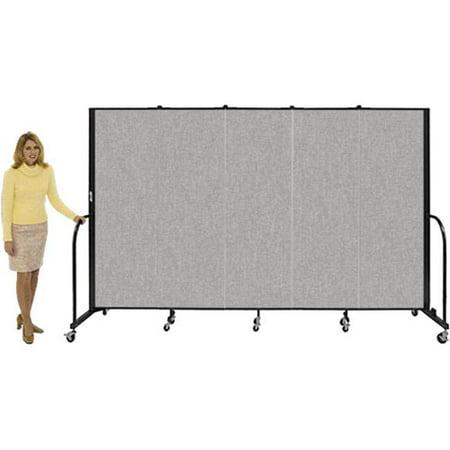 - Screenflex CFSL407 Screenflex 7 Panel / L-13 1    / H-4  Gray