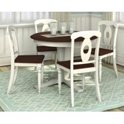 5-Pc Round Dining Table and Chair Set