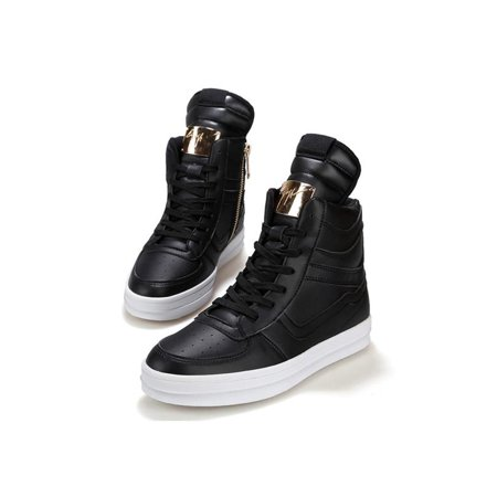 83cec3d6 New Fashion Men's High Top Sneakers Ankle Boots Lace Up Skateboard Casual  Shoes