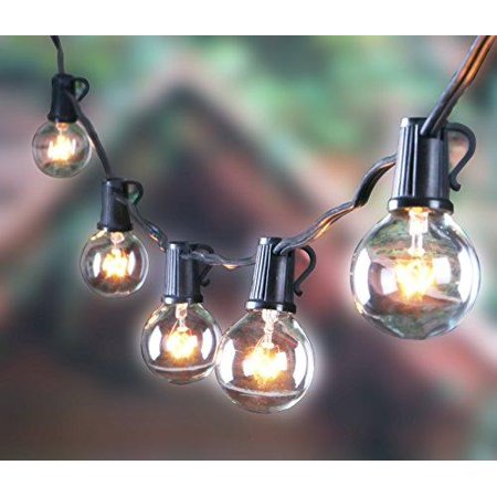 How To Use Umbrella Lights New Outdoor G60 String Lights Vintage Backyard Patio Lights With 60