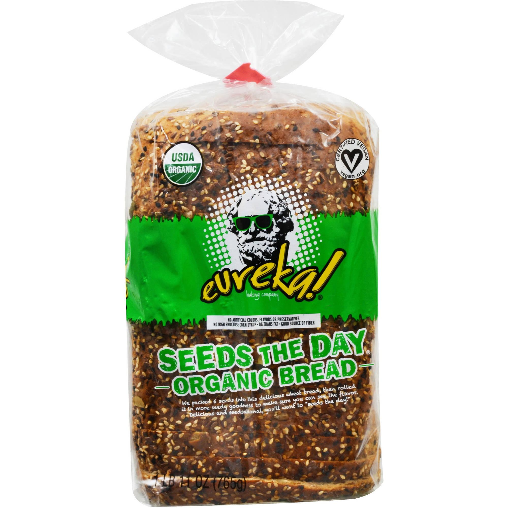 Eureka! Seeds the Day Organic Bread, 1.69 lbs