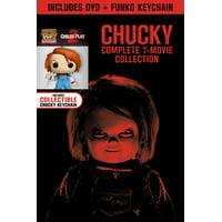 Chucky: Complete 7-Movie Collection (Walmart Exclusive) (DVD + Funko Keychain)