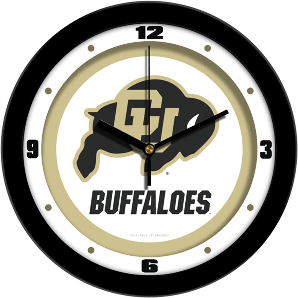 Colorado Golden Buffaloes NCAA Wall Clock