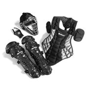 MacGregor Junior Catcher's Gear Pack in Black/Silver (Ages 5-8)