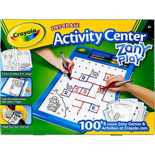 Crayola Dry Erase Activity Center, Zany Play Edition by Crayola