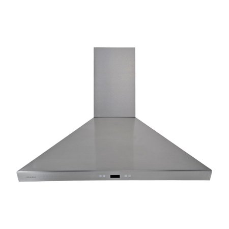 Cavaliere-Euro 36W in. Wall Mounted Range Hood Cavaliere Cavaliere offers a complete stainless steel range hood collection. They blend superior components with the latest technologies to create range hoods that cater to your needs. Cavaliere has a special understanding of the kitchen environment, ergonomics, aesthetics, and integration within your home or workplace. They specialize in wall-mounted, island, or under cabinet range hoods that make a statement in your kitchen.