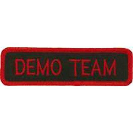Demo Team Uniform Patch
