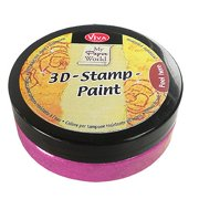 3D Stamp Paint 50ml-Rose