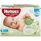 Huggies Natural Care Baby Wipes Clutch N Clean 32