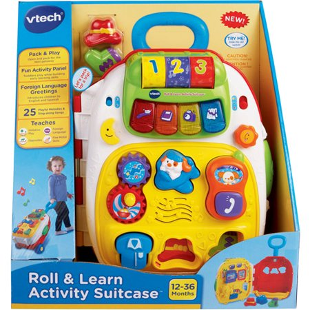 ROLL & LEARN ACTIVITY SUITCASE by V-Tech - YouTube