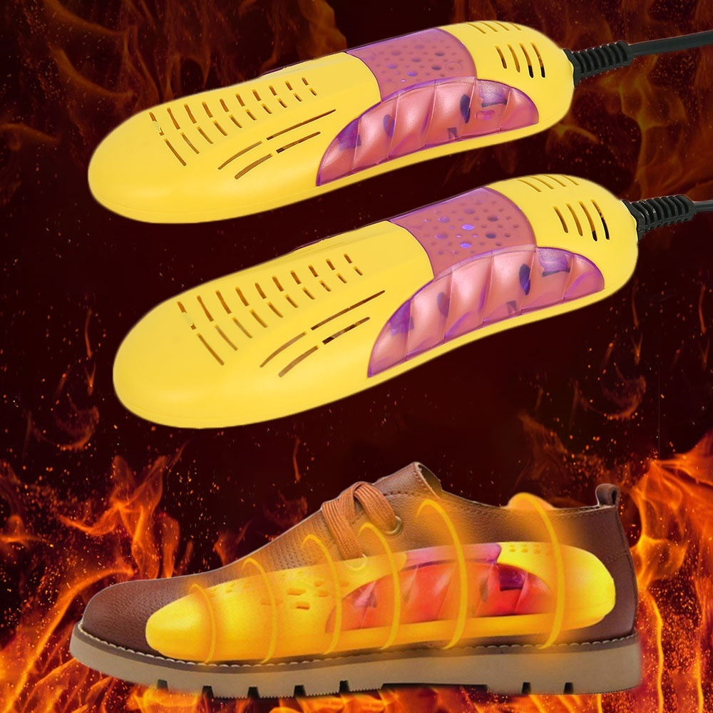 220V Shoe Dryer Shoe Sterilizer Heater Warmer UV Shoe Sterilizer Heating Dr/_dr