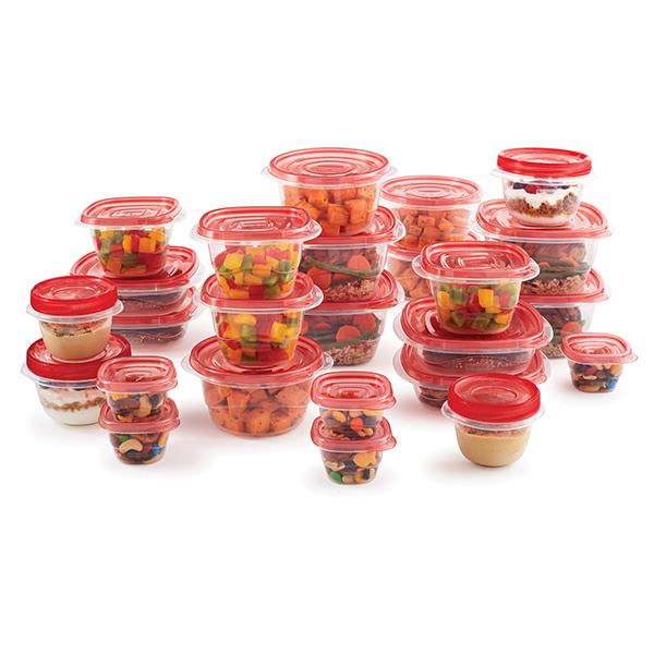 Rubbermaid 50 Piece Takealong Red