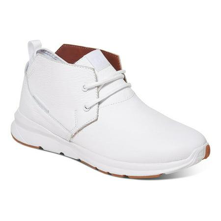 - DC Men's Ashlar LE Mid Top Sneakers White Suede Leather Rubber 12.5 D